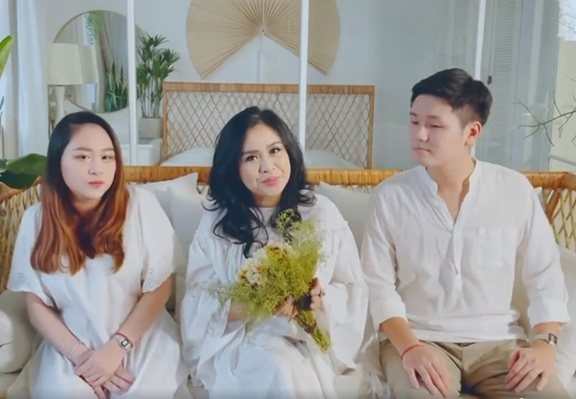 Diva Thanh Lam cùng vợ chồng con gái làm MV tri ân bác sĩ chống dịch - Ảnh 1.