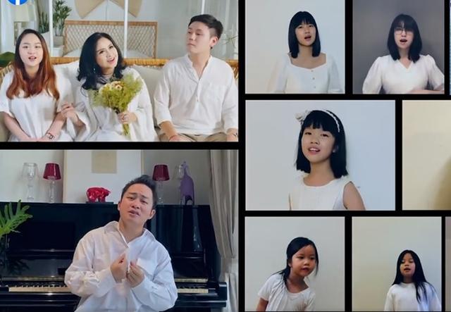 Diva Thanh Lam cùng vợ chồng con gái làm MV tri ân bác sĩ chống dịch - Ảnh 3.
