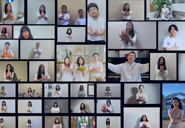 Diva Thanh Lam cùng vợ chồng con gái làm MV tri ân bác sĩ chống dịch - Ảnh 4.