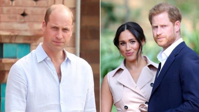 Hoàng tử William không đồng ý để vợ chồng Meghan làm lễ rửa tội cho con gái ở hoàng gia - Ảnh 2.