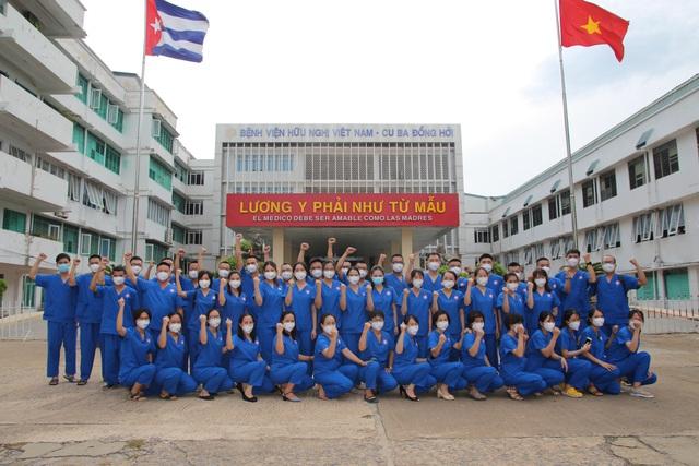 Cán bộ y tế Quảng Bình sát cánh cùng bệnh nhân COVID-19 ở TP Hồ Chí Minh - Ảnh 2.