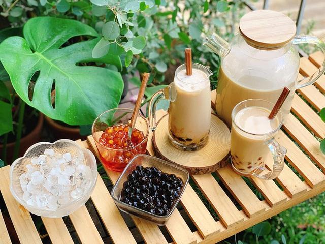 Ở nhà mùa dịch, học cách làm trà sữa ngon như ngoài hàng  - Ảnh 3.