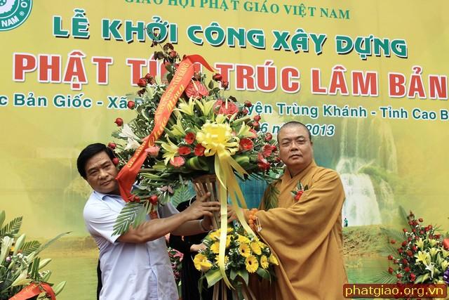 Khởi công xây dựng chùa Phật tích Trúc Lâm Bản Giốc 3