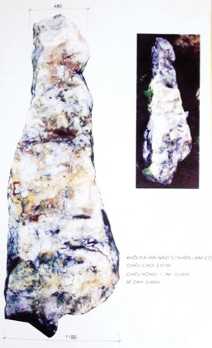 Thăng trầm cột đá thề đền Hùng 2