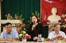 Đoàn công tác của Tổng cục Dân số làm việc tại Trà Vinh