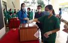 Những hình ảnh đặc biệt tại tâm dịch Bắc Giang