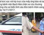 BV Bạch Mai nói gì về thông tin bảo vệ chặn xe cứu thương?