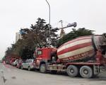 """Xe tải, xe bồn """"đại náo"""" Thủ đô dịp cận Tết: Thanh tra giao thông đường bộ ở đâu khi xe bê tông """"đại náo"""" phố cấm?"""