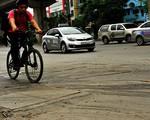 Khiếp đảm với tình trạng xuống cấp nghiêm trọng trên tuyến đường Nguyễn Trãi, Trần Phú, Quang Trung