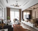 Căn hộ 82m² đẹp sang trọng với gam màu nâu độc lạ lôi cuốn mọi ánh nhìn ở Thanh Xuân, Hà Nội