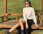 3 cách mix trang phục thu như Tăng Thanh Hà
