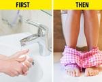 Không rửa tay trước khi... đi vệ sinh, sai lầm nghiêm trọng nhiều người mắc