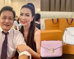 Chồng đại gia Á hậuTrịnh Kim Chi  tặng hai túi hàng hiệu mừng sinh nhật vợ