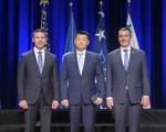 """Vệ sĩ gốc Á của ông Biden """"nổi như cồn"""" bởi lý do bất ngờ"""