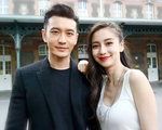 Huỳnh Hiểu Minh lộ ảnh đi bar với gái trẻ, Angelababy hôn má trai lạ