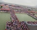 Sở VH-TT&DL Hà Nam nói gì về cảnh 'vỡ trận' ở chùa Tam Chúc?