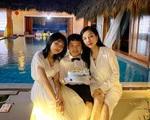Vợ cũ cố NS Vân Quang Long tổ chức sinh nhật cho con trai