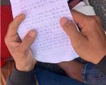 Xót xa bức thư tuyệt mệnh của nam sinh nhảy cầu Thuận Phước tự vẫn