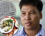 Vụ 'chặt chém' 1,8 triệu đồng/kg ốc hương: Chủ nhà hàng đưa bằng chứng chứng minh bị khách tố oan