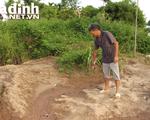 Cận cảnh khu vực người đàn ông ở Hải Dương bị con nợ chôn xác sau khi sát hại
