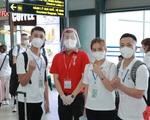 Sinh viên ĐH Y Dược Thái Nguyên 'xuống tóc' vào TP HCM chi viện chống dịch