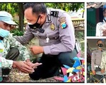 Bị cảnh sát phát hiện bán hàng rong 'chui', cụ ông vẫn cúi đầu cảm ơn, câu chuyện lạ đời này thực sự là gì?