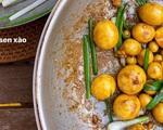 'Ngọc nữ' Hà Tăng làm trứng non cháy tỏi bằng chảo nhôm mẹ cho