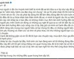 """Vụ Huỳnh Anh phát ngôn kém duyên về Hoàng Oanh: Bạn gái """"single mom"""" bị công kích nặng nề, nam diễn viên chính thức xin lỗi tình cũ, khép lại drama"""
