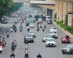 Đường phố Hà Nội đông nghịt xe cộ sáng đầu tuần