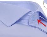 Vì sao lỗ cài khuy áo sơ mi trên cùng lại nằm ngang trong khi tất cả các lỗ khác lại nằm dọc?
