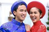 Áo dài cưới tinh xảo tuyệt đẹp của sao Việt