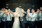 Thiếu nữ giới, nam sinh Bách khoa tự làm đám cưới kỷ yếu