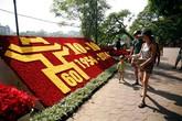 Hà Nội trang hoàng kỷ niệm 60 năm giải phóng