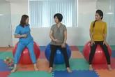 Bài tập giảm đau lưng cho bà bầu