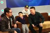 BTV Quang Minh khoe hai quý tử trên sóng truyền hình