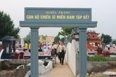 Khánh thành Nghĩa trang cán bộ chiến sỹ miền Nam tập kết