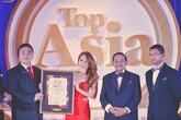 """Mỹ Tâm hạnh phúc nhận giải """"Huyền thoại âm nhạc châu Á"""" tại Malaysia"""