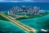 """Hình ảnh Trung Quốc ngang nhiên xây đường băng, """"thành phố"""" trên đảo của Việt Nam"""