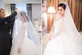 Chiêm ngưỡng váy cưới hoàng gia mà Angelababy diện trong đám cưới cổ tích