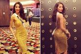 Phạm Hương chọn váy áo linh hoạt ở Hoa hậu Hoàn vũ TG