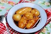 Bánh ngõa phủ đậu xanh và bánh trùng mật mía ở Vĩnh Phúc