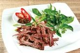 Bò một nắng và muối kiến vàng độc đáo ở Gia Lai