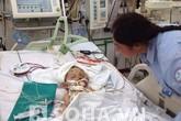 """Hi hữu: Bé 3 tuổi ở Hà Nội phải """"gửi não"""" sau tai nạn thảm khốc"""