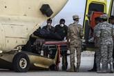 Đẫm nước mắt đưa thi thể các nạn nhân Nga vụ máy bay rơi về nước