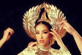 """Hoa hậu Phạm Hương và những """"chiêu"""" ghi điểm tại cuộc thi Hoa hậu Hoàn vũ"""