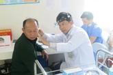 Hàng trăm người nghèo Thái Nguyên được khám sức khỏe miễn phí chất lượng cao