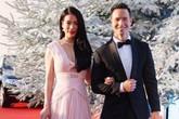 Trương Ngọc Ánh tay trong tay tình cảm với Kim Lý trên thảm đỏ