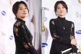 'Nàng Dae Jang Geum' nổi bật với váy xuyên thấu trên thảm đỏ