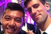 Lý Hoàng Nam khoe ảnh dự tiệc vô địch cùng Djokovic