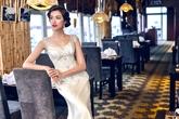 Á hậu Lệ Hằng tuyệt xinh khi diện váy cưới
